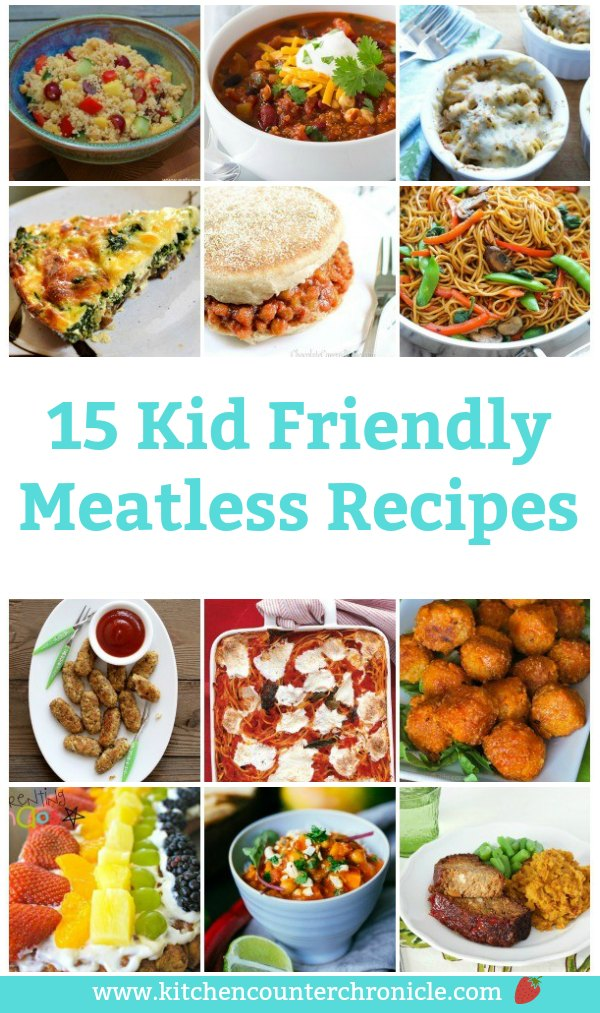These meatless recipes are totally kid (and parent) approved. Perfect for meatless Monday or any day of the week. #vegetarianrecipe #kidvegetarianrecipes #kidfriendlyrecipes #kidsinthekitchen #meatlessmonday #familyrecipes #meatlessrecipes
