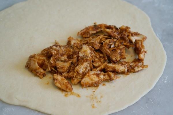 calzone recipe butter chicken