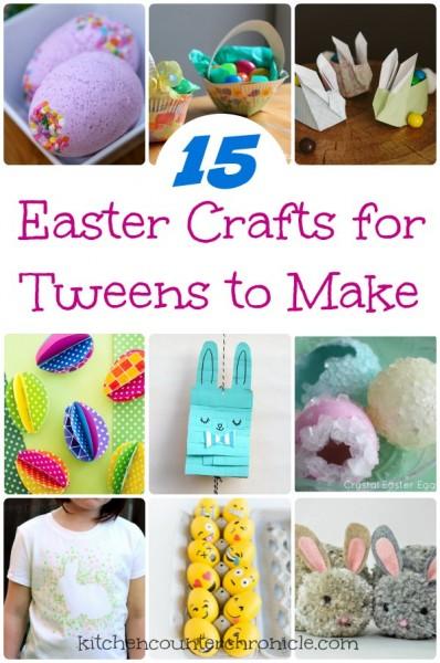 easter crafts for tweens to make