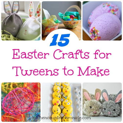 20 Fun Easter Crafts For Tweens And Teens To Make