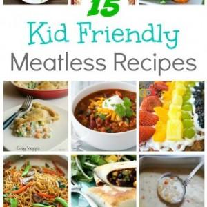 kid friendly meatless recipes