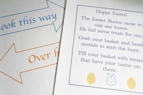 outdoor easter egg hunt printable