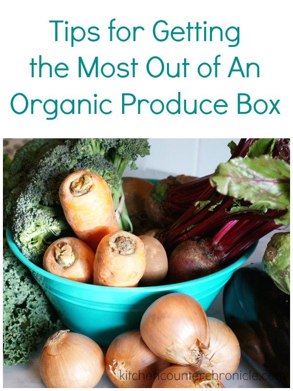 Tips for Getting the Most Out of An Organic Produce Box