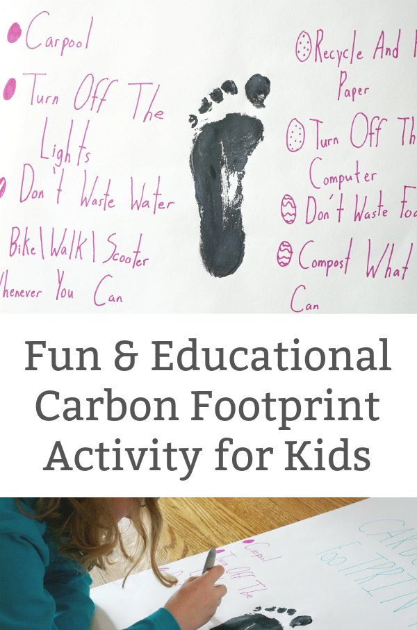 carbon footprint activity for kids