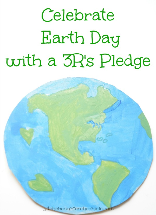 celebrate earth day with 3r's pledge