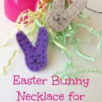 Easter Bunny Necklace for Kids