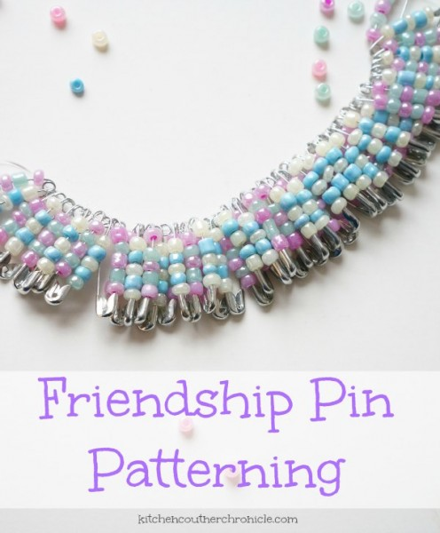 friendship pin craft pattern
