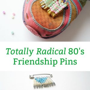how to make friendship pin craft