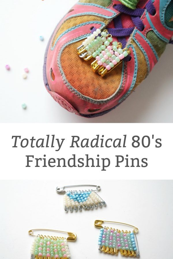 how to make friendship pins craft