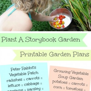 plant a storybook garden with kids