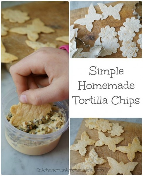simple homemade tortilla chips cover