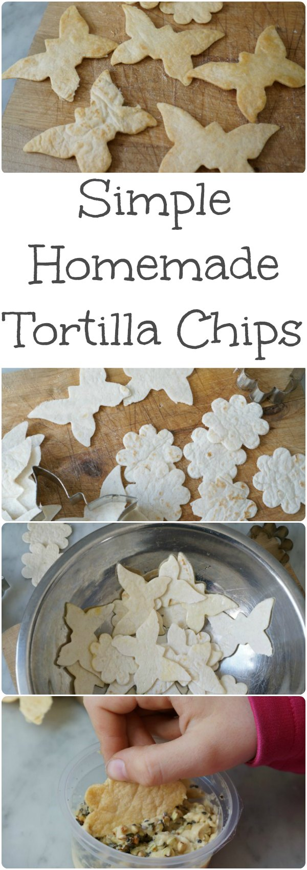 simple homemade tortilla chips