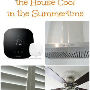 tips for keeping house cool in summer