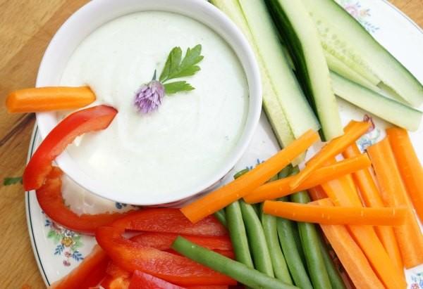cottage cheese garlic dip
