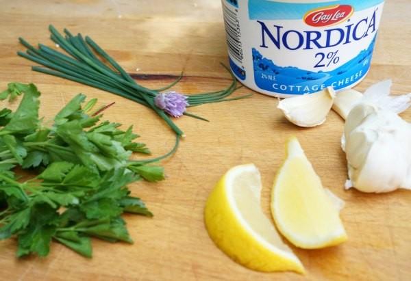 cottage cheese vegetable dip ingredients