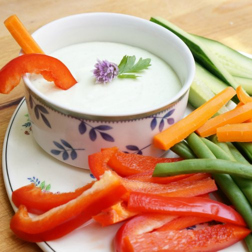 cottage cheese vegetable dip