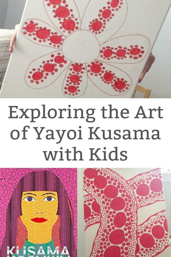 Explore the Artwork of Yayoi Kasuma with Kids