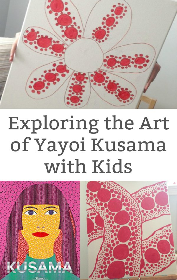 Exploring the Art of Yayoi Kusama with kids