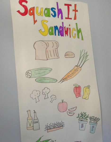 squash it sandwich board