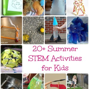 summer stem activities for kids