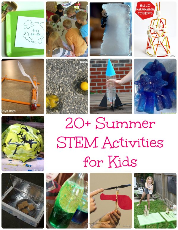 20+ Summer STEM Activities for Kids