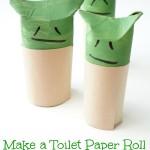 Make A Toilet Paper Roll Yoda