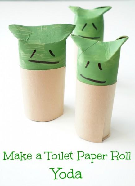 toilet paper roll yoda