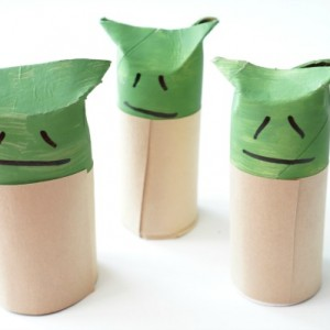 toilet paper roll yoda valentine card for tweens