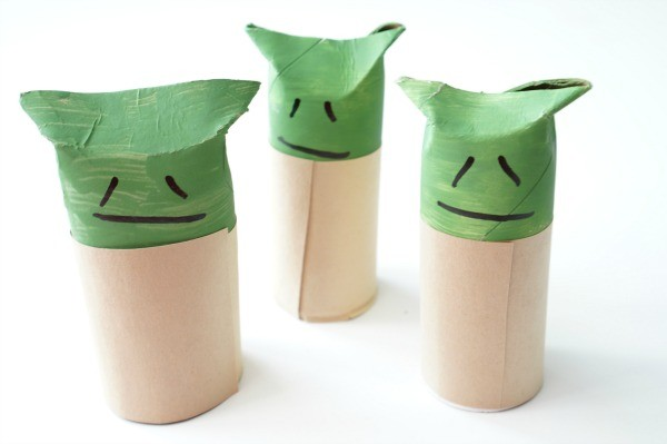 toilet paper roll yoda group