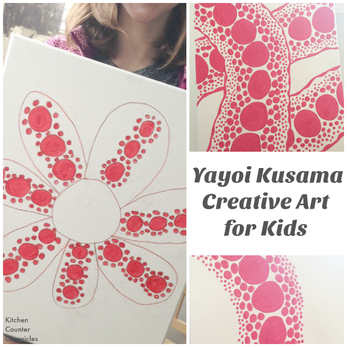 yayoi kusama art project for kids
