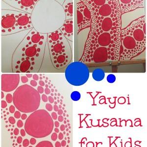 yayoi kusama for kids cover