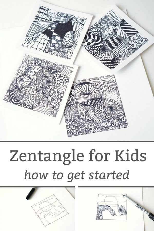 zentangle for kids beginners guide