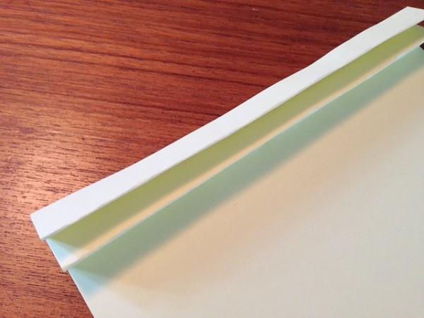 fan folding paper