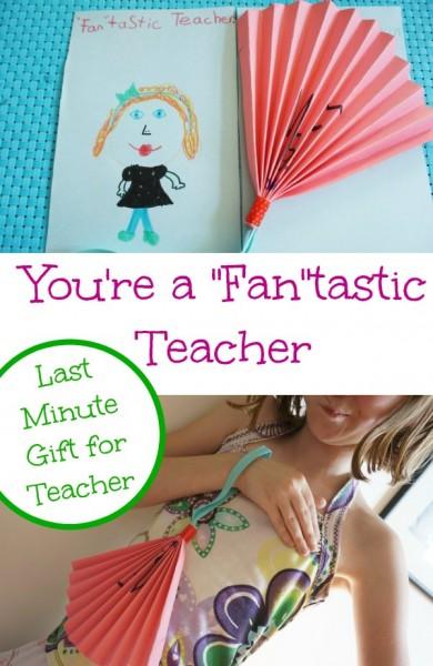 teacher gift fantastic teacher