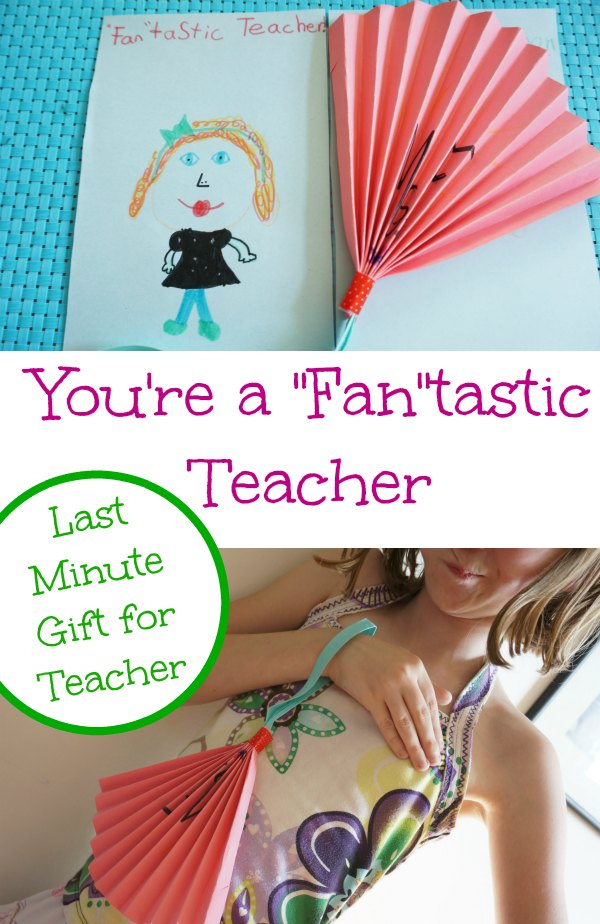 teacher gift fantastic teacher