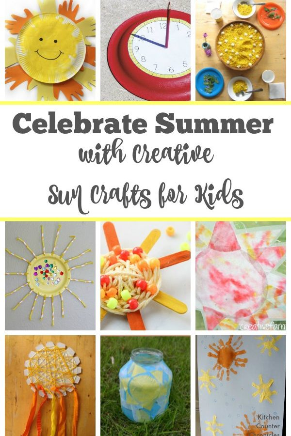 Celebrate Summer with Creative Sun Crafts for Kids