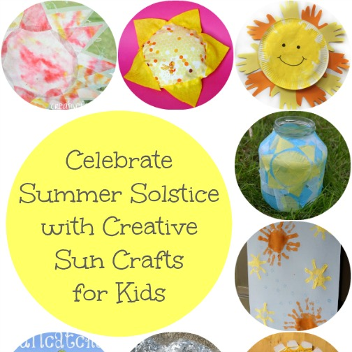 Celebrate Summer Solstice With Creative Sun Crafts For Kids