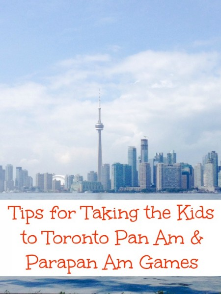 taking the kids to toronto pan am and parapan am games