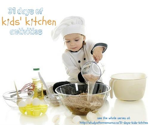31 days of kids kitchen