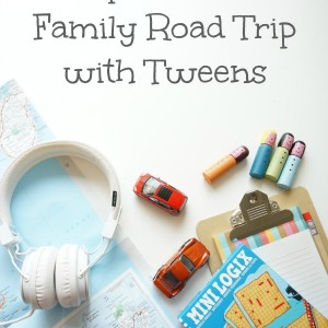 family road trip with tweens