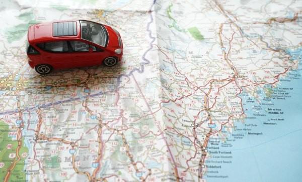 road trip with tweens map