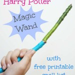 Make Your Own Harry Potter Magic Wand