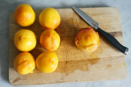 peaches peeled