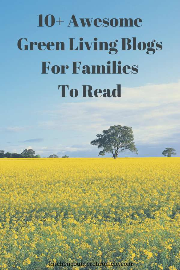 10+ Awesome Green Living Blogs for Families