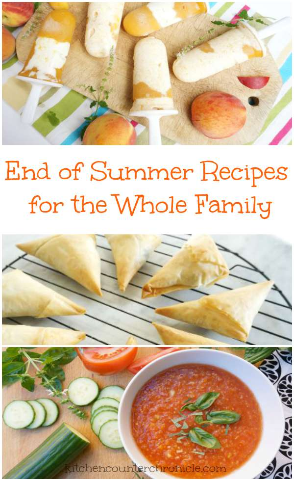 Hands on Kitchen : End of Summer Recipes