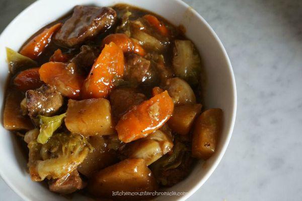 fall beef stew