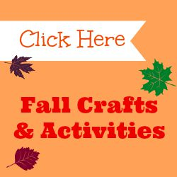fall crafts and activities button