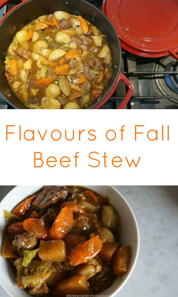 flavours of fall beef stew