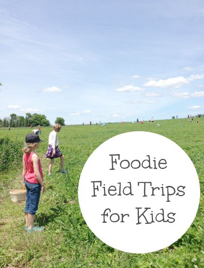 foodie field trips for kids