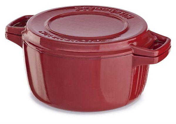 kitchenaid cast iron 6 quart casserole
